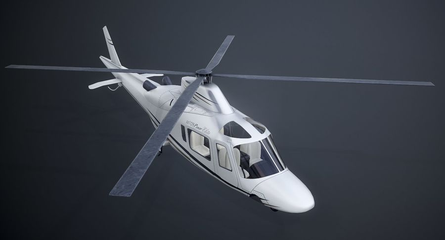 Agusta Westland AW109 Helikopteri royalty-free 3d model - Preview no. 3