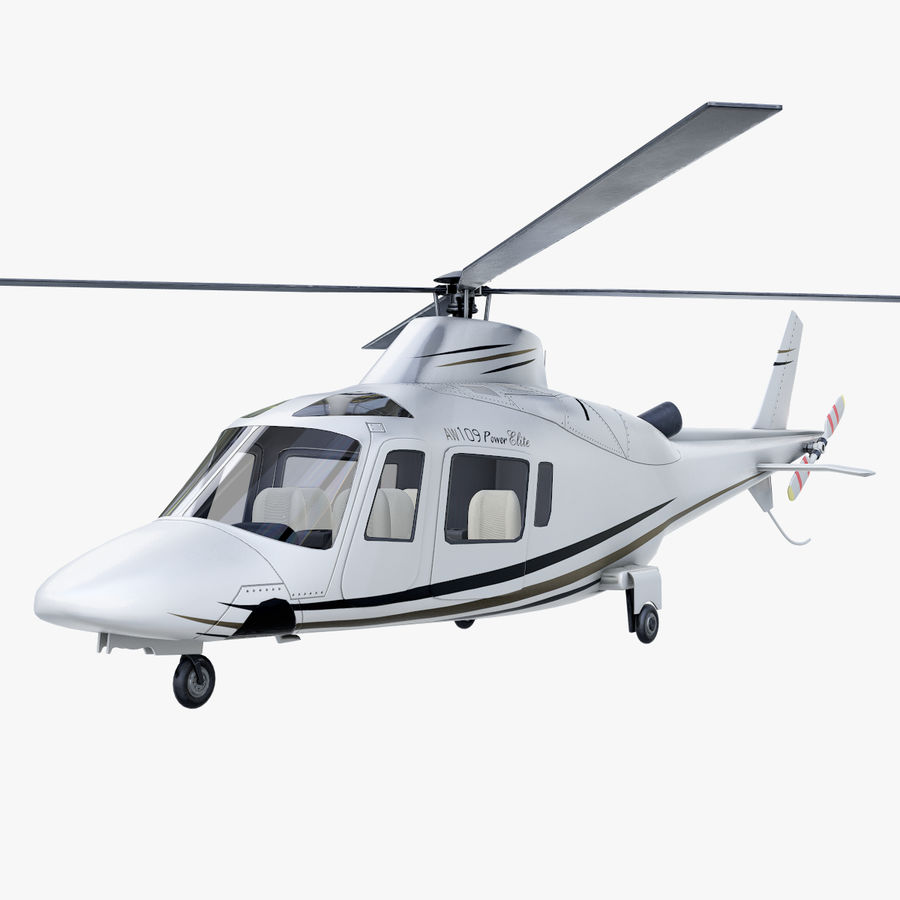 Agusta Westland AW109 Helikopteri royalty-free 3d model - Preview no. 1
