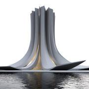 concept bashnia 1 3d model