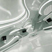 SF未来的な部屋 3d model