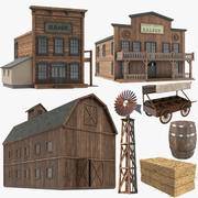 Wild-West-Sammlung 3d model