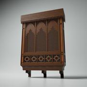 Islamic Window (Mashrabiya) 3d model