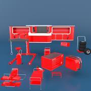 ツールガレージ 3d model