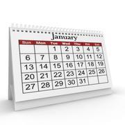 Календарь 3d model