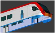 Ivolga tåg 3d model
