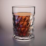 бокал для виски 3d model