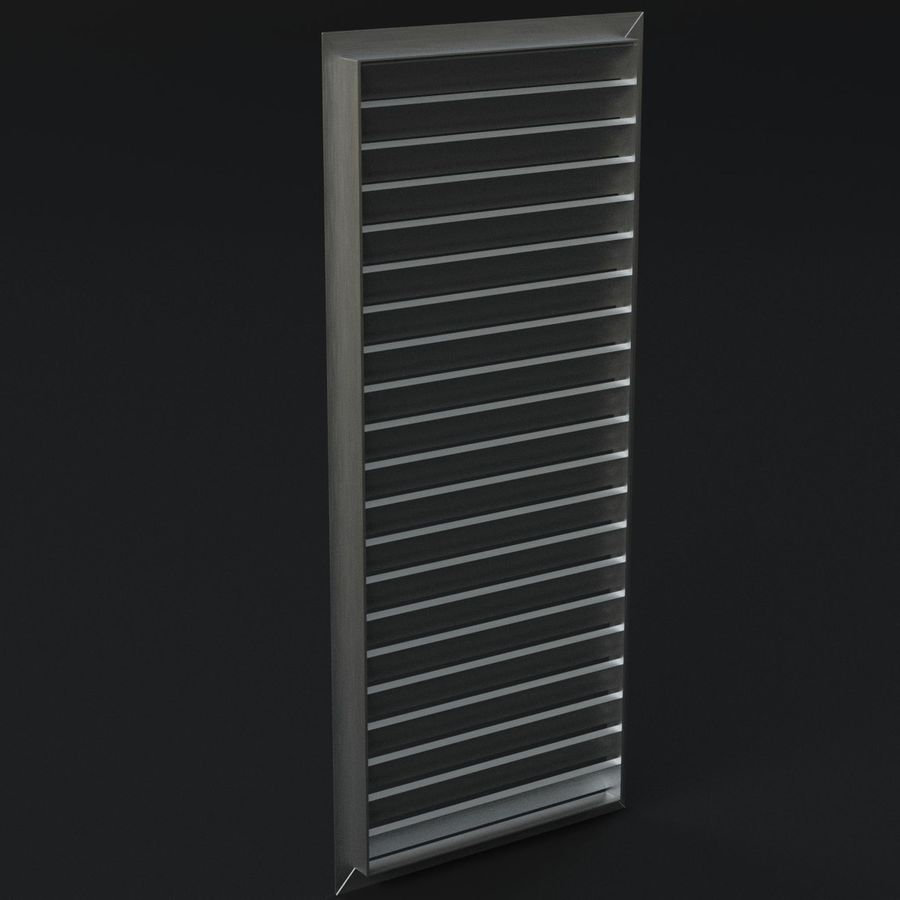 Air vent 1 royalty-free 3d model - Preview no. 5