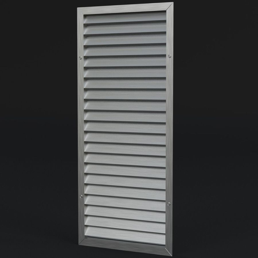 Air vent 1 royalty-free 3d model - Preview no. 1