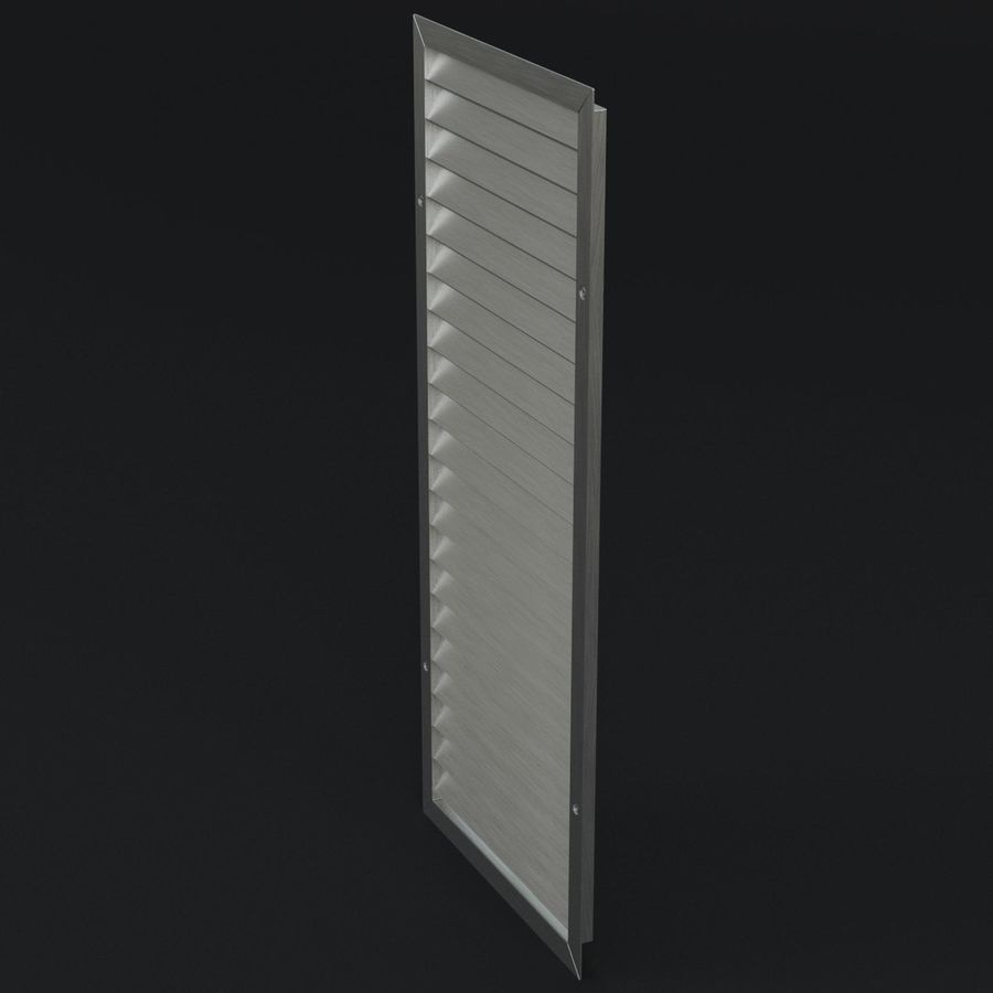 Air vent 1 royalty-free 3d model - Preview no. 2