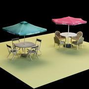 Umbrella  Seat 3d model