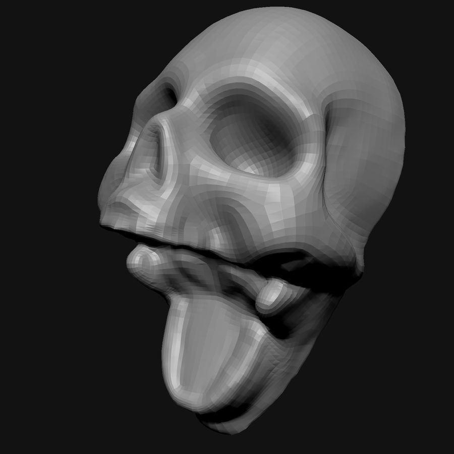 Stylised Bones royalty-free 3d model - Preview no. 5