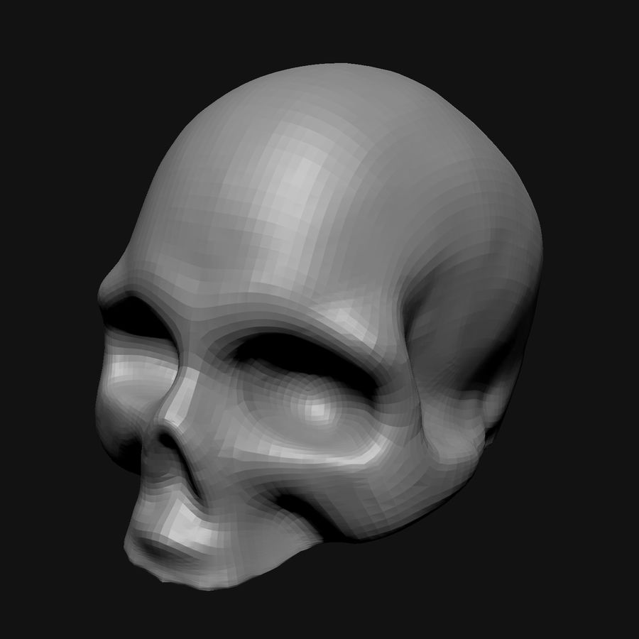 Stylised Bones royalty-free 3d model - Preview no. 4