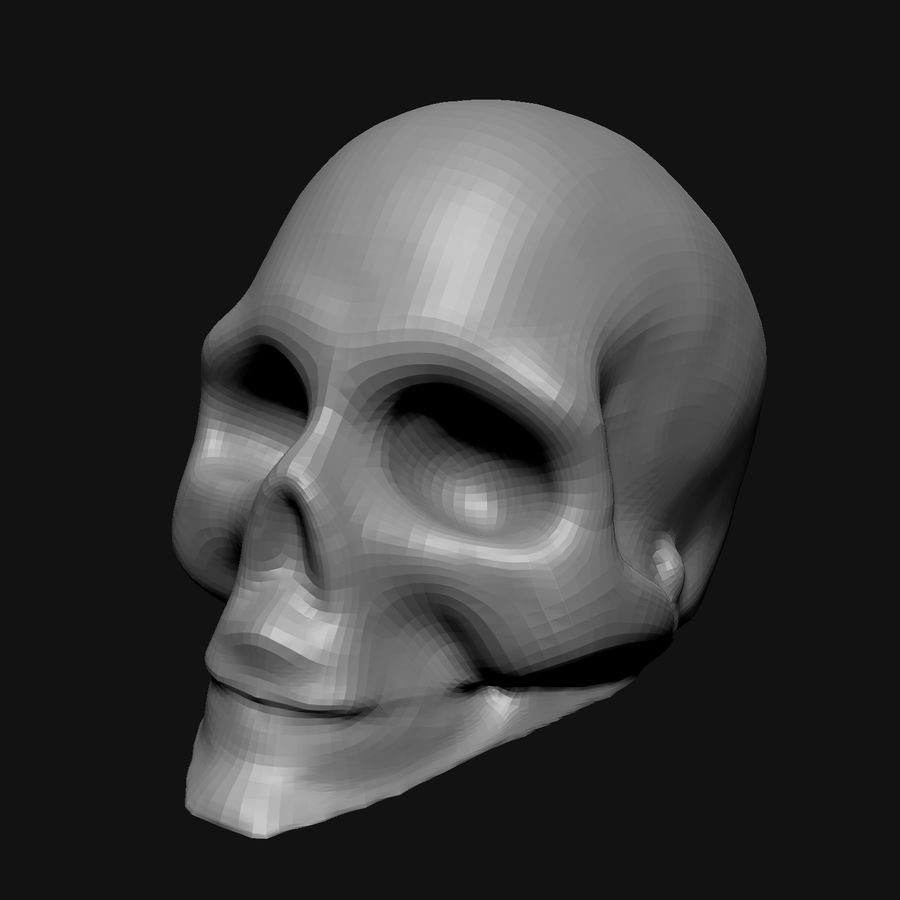 Stylised Bones royalty-free 3d model - Preview no. 2