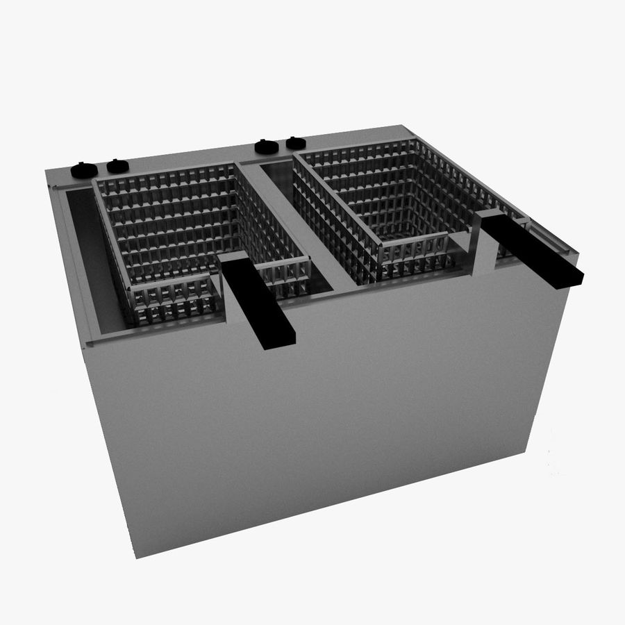 Fryer royalty-free 3d model - Preview no. 1