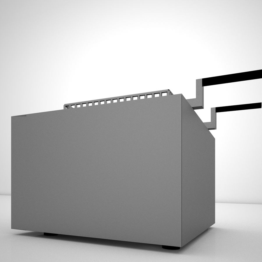 Fryer royalty-free 3d model - Preview no. 6