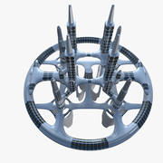 Zukünftige Stadt IV 3d model