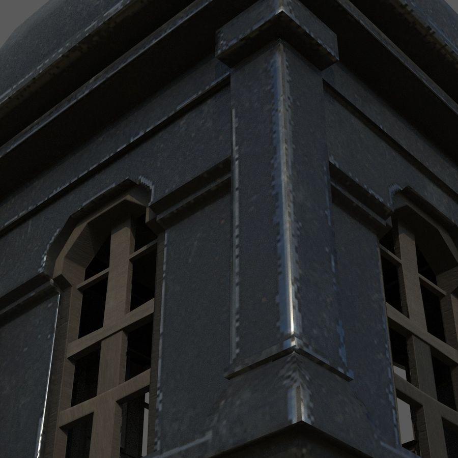 Torre da igreja royalty-free 3d model - Preview no. 9