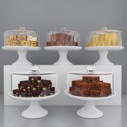 ケーキピース 3d model