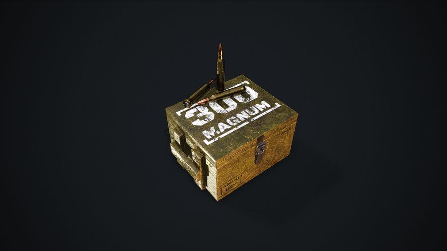 弹药盒 royalty-free 3d model - Preview no. 6