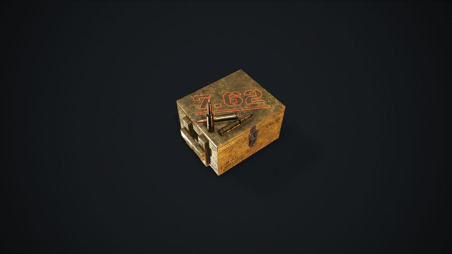弹药盒 royalty-free 3d model - Preview no. 5