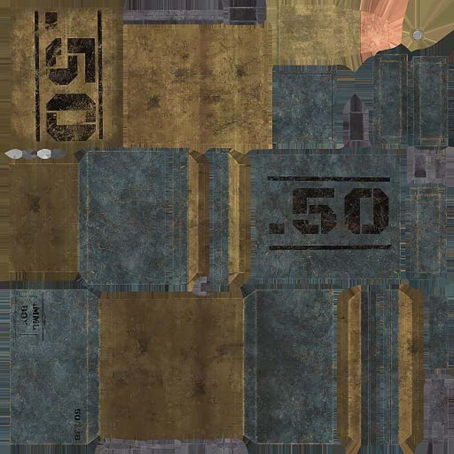 弹药盒 royalty-free 3d model - Preview no. 16