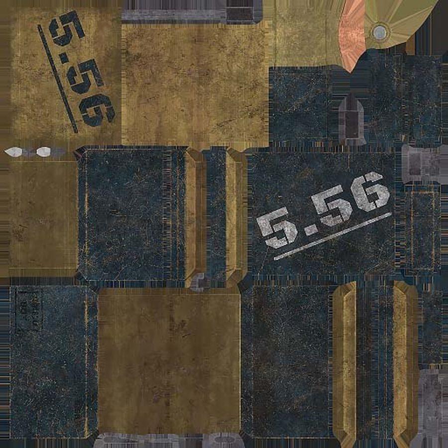 弹药盒 royalty-free 3d model - Preview no. 17