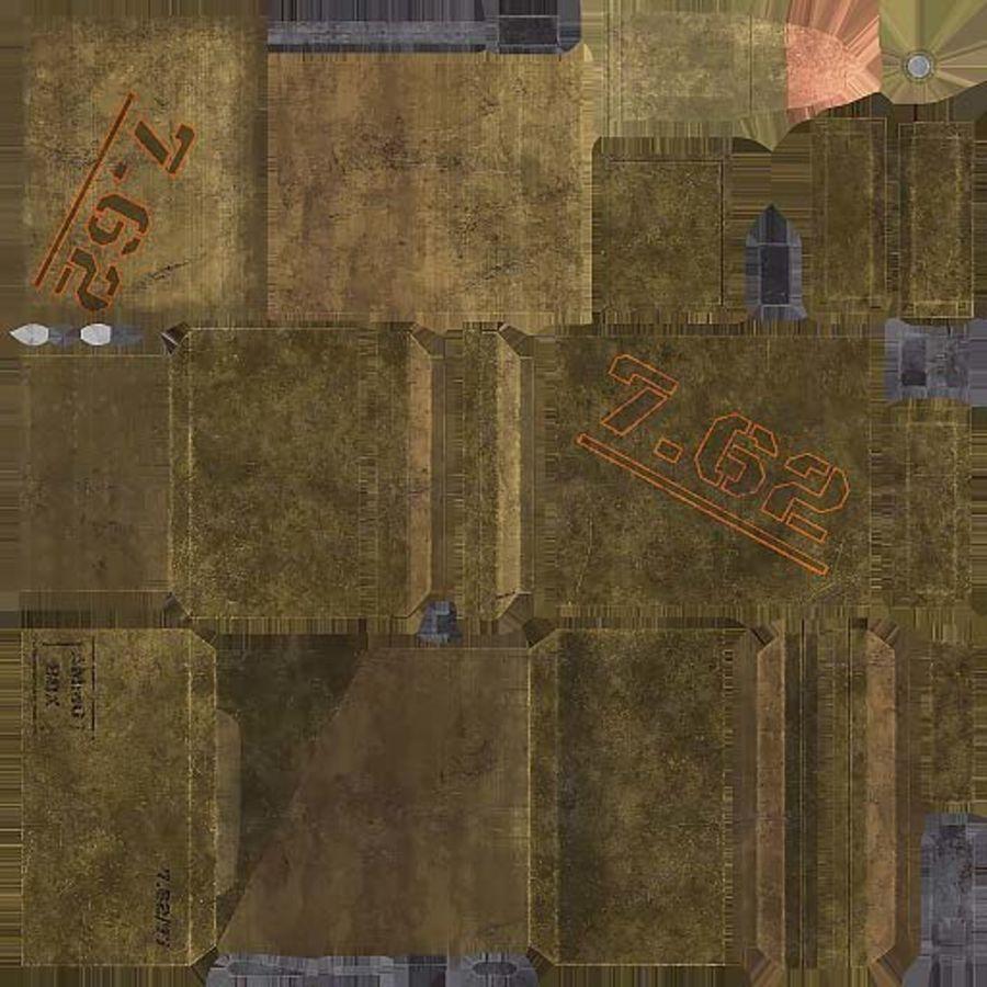 弹药盒 royalty-free 3d model - Preview no. 11