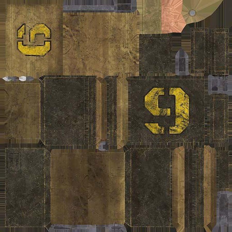 弹药盒 royalty-free 3d model - Preview no. 14
