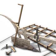 中世纪农业资产包 3d model