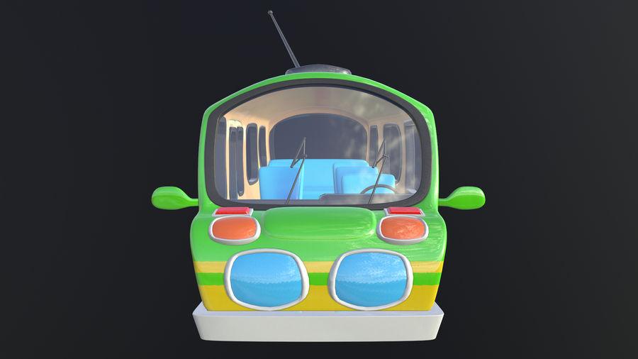 Asset - Cartoons - Bus - 02 - 3D Model royalty-free 3d model - Preview no. 3