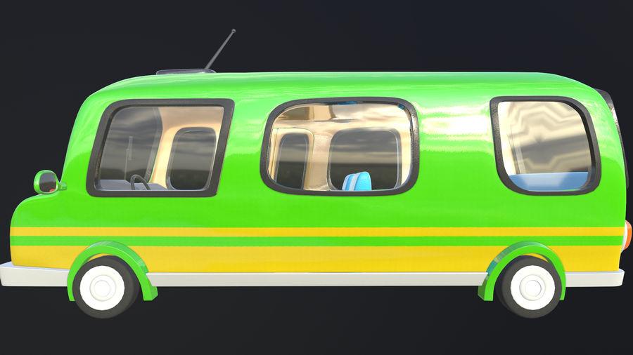 Asset - Cartoons - Bus - 02 - 3D Model royalty-free 3d model - Preview no. 2