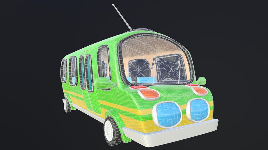 Asset - Cartoons - Bus - 02 - 3D Model royalty-free 3d model - Preview no. 9