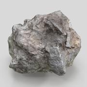 meteorite 3d model