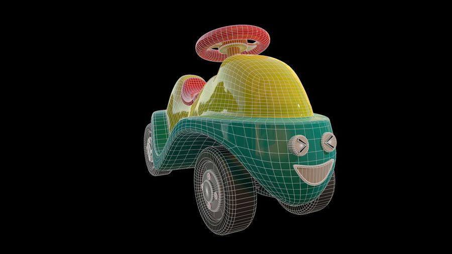 アセット-漫画-ボビーカー-3Dモデル royalty-free 3d model - Preview no. 9