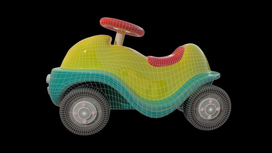 アセット-漫画-ボビーカー-3Dモデル royalty-free 3d model - Preview no. 7