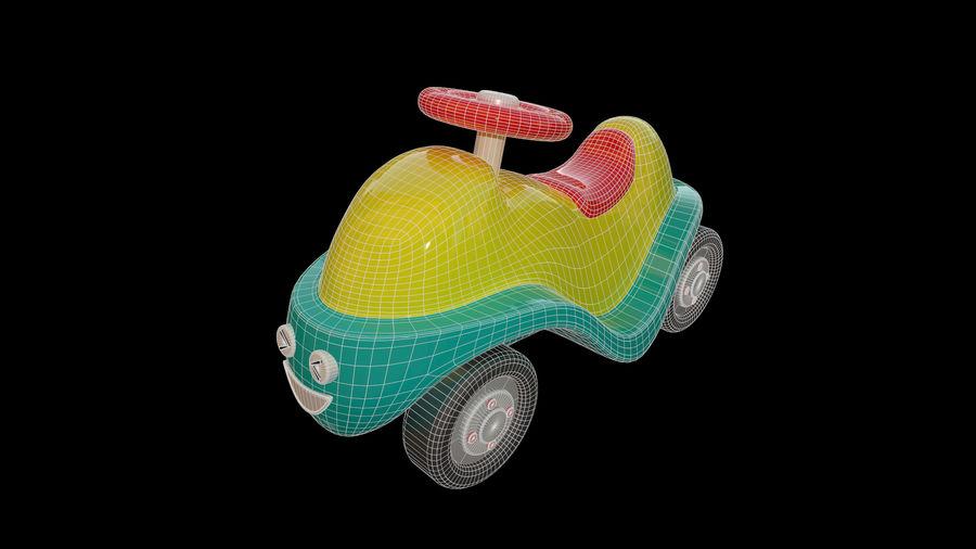 アセット-漫画-ボビーカー-3Dモデル royalty-free 3d model - Preview no. 6