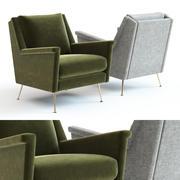 ウェストエルムカルロ-世紀半ばの椅子 3d model