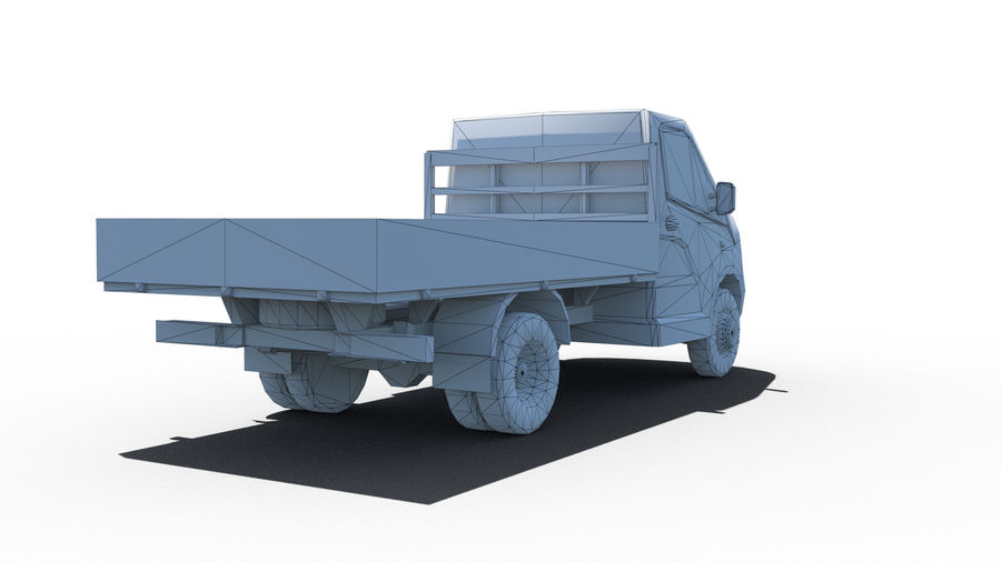 Gaz Weiter royalty-free 3d model - Preview no. 6