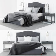 Pottery Barn - Raleigh Bed 3d model