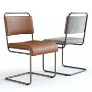 West Elm - Krzesło przemysłowe 3d model