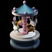 Boîte à musique 3d model