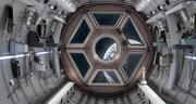 Sci Fi Spaceship Интерьер 3d model