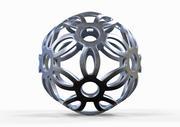 3D spherical model 3d model