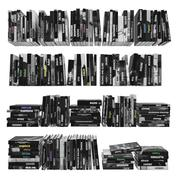 Książki 150 sztuk 3-1-3 3d model