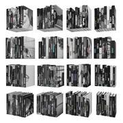 Böcker 150 stycken 3-9-2 3d model
