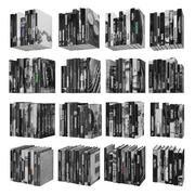 Böcker 150 stycken 3-9-3 3d model