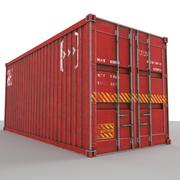 Container 20 ft 3d model