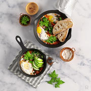 Shakshuka with Spinach and Harissa 3d model
