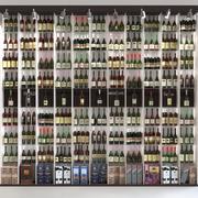 Huge Alcoholic Showcase 4 3d model