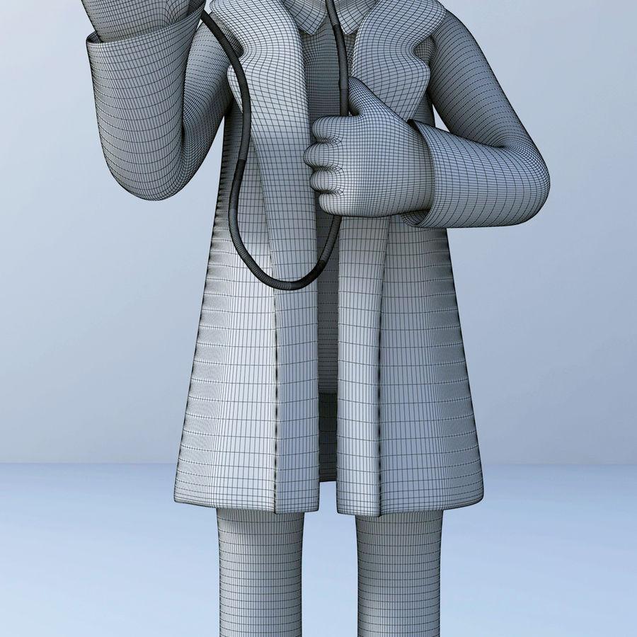 医生3D模型 royalty-free 3d model - Preview no. 5